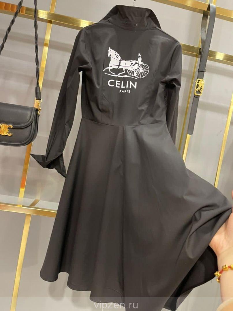 Роскошное хлопковое платье ремень в комплекте