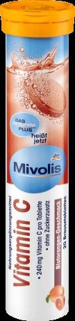 Витамины Mivolis (витамин С) 20шт