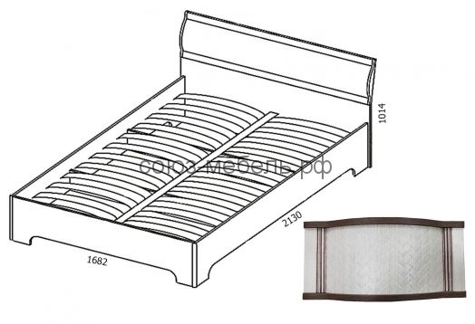 Спальня Симона (тумба ТМ 2шт+кровать КР-2+ шкаф ШУ 2 шт+шкаф угловой Ш-УГ-Z+угол УГ)