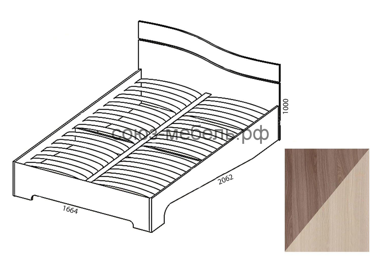 Сорренто Кровать КР-1