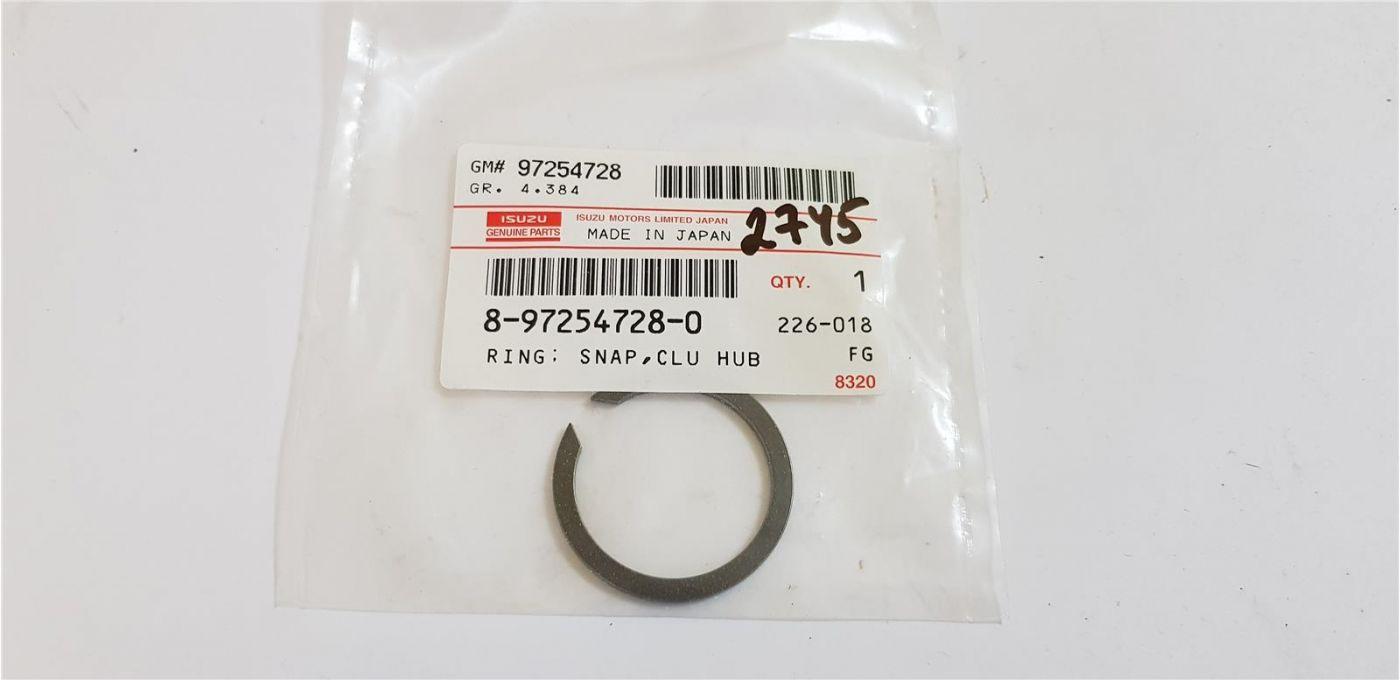 Кольцо КПП стопорное ступицы муфты 4/5 передачи Isuzu NQR75 (MYY5T)