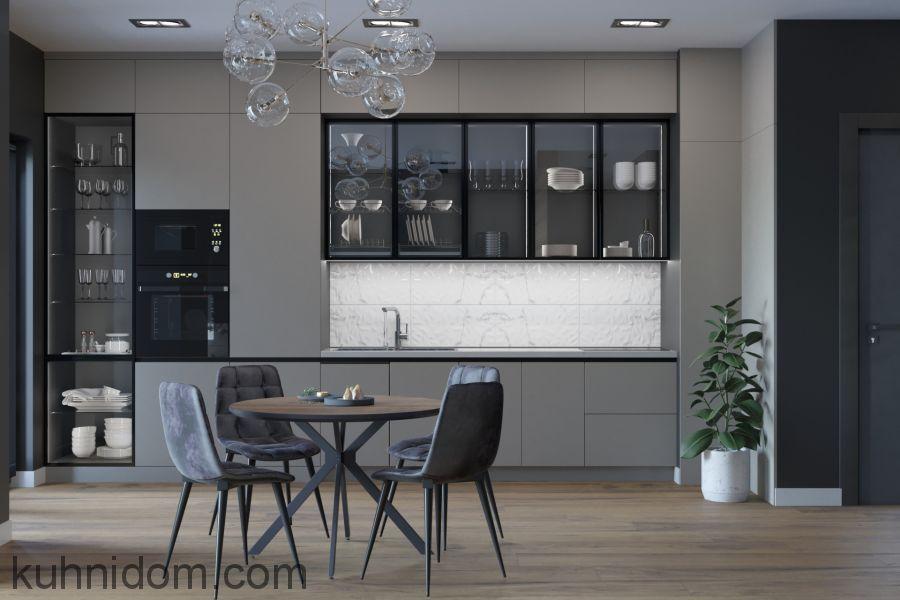 Кухня Gloss Stretto Black