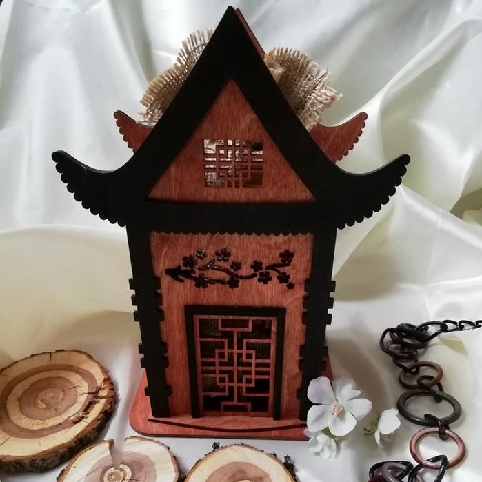 Чайный домик - подарочный набор с чаем