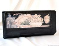 Кожаный кошелёк Винтаж