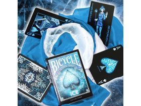 Дизайнерские карты Bicycle Ice Theme Blue