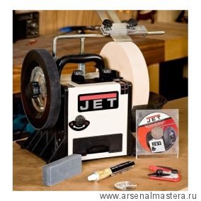 Шлифовально-полировальный станок 0,2 кВт 230 В JET JSSG-10 708015M