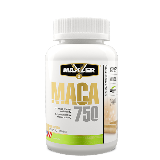 Maxler MACA 750 90 капсул