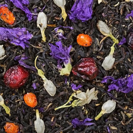 Ожерелье королевы - черный чай с природными добавками
