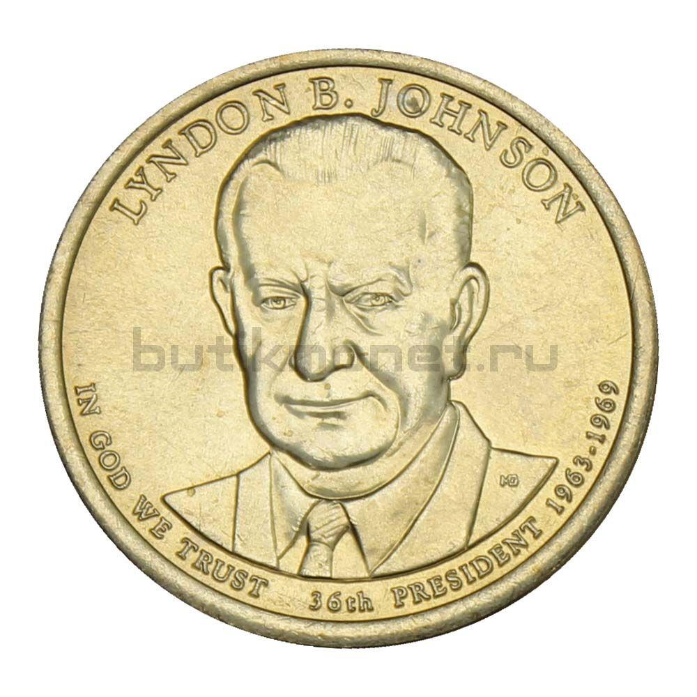 1 доллар 2015 США Линдон Джонсон (Президенты США)