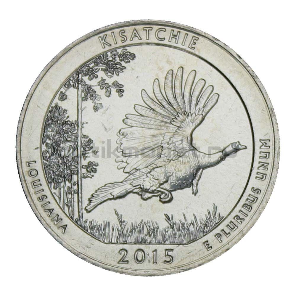 25 центов 2015 США Национальный лес Кисатчи D