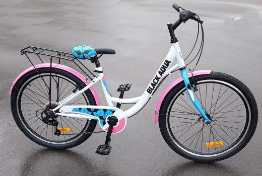 Велосипед Black Aqua City 1421 V 24 Розовый