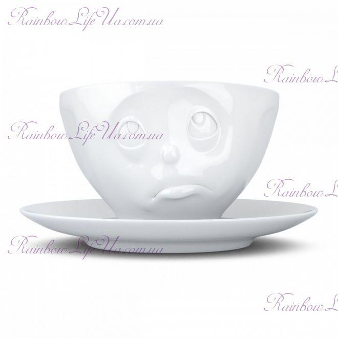 """Чашка с блюдцем для кофе 200 мл Tassen """"Ну пожалуйста!"""""""