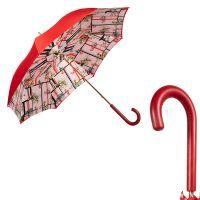Зонт-Трость Pasotti Rosso Giglio Felce Original