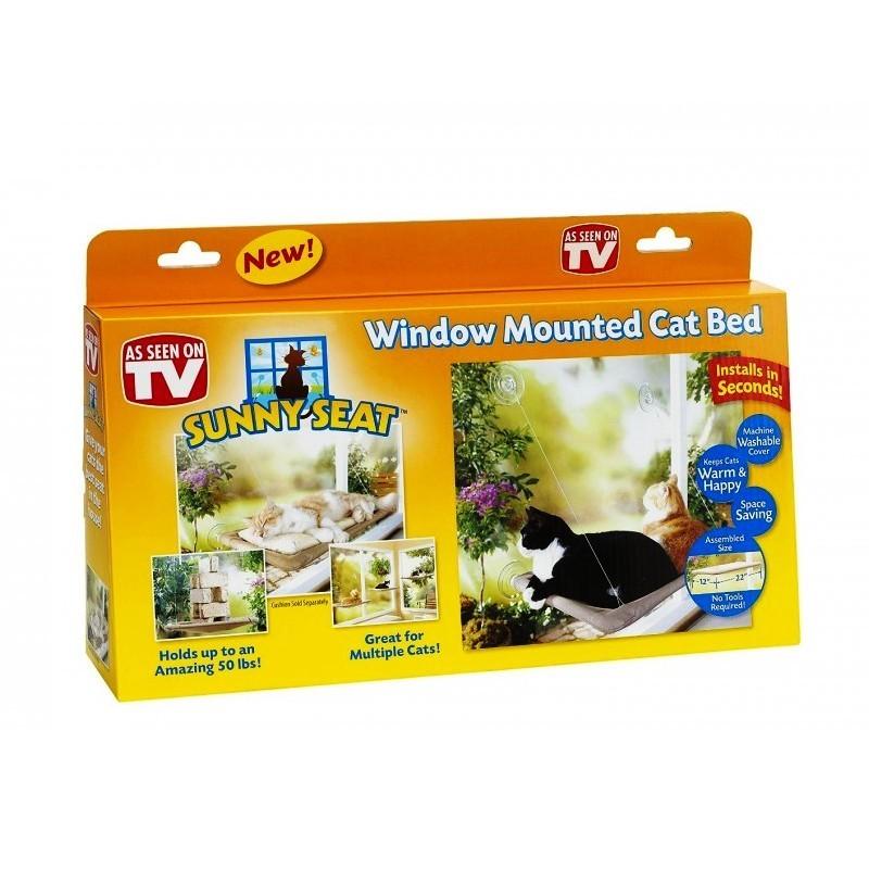 Лежанка подвесная для кошек Sunny Seat Window Mounted Cat Bed