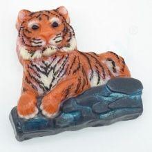 """Форма для мыла """"Тигр лежит на камнях"""", арт. 2262"""