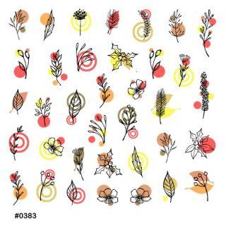 Слайдер-дизайн для ногтей № 0383