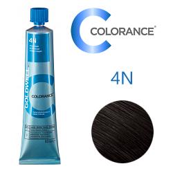Goldwell Colorance 4N - Тонирующая крем-краска Средне-коричневый экстра 60 мл