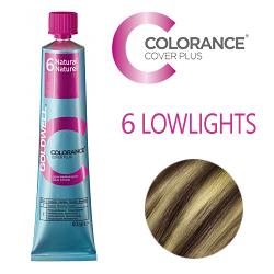 Goldwell Colorance Cover Plus Lowlights 6 Natural - Тонирующая крем-краска  60 мл