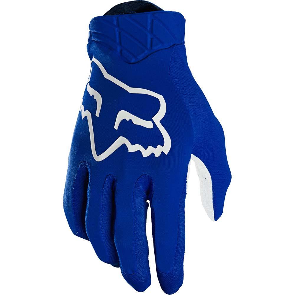 Fox 2021 Airline Blue перчатки