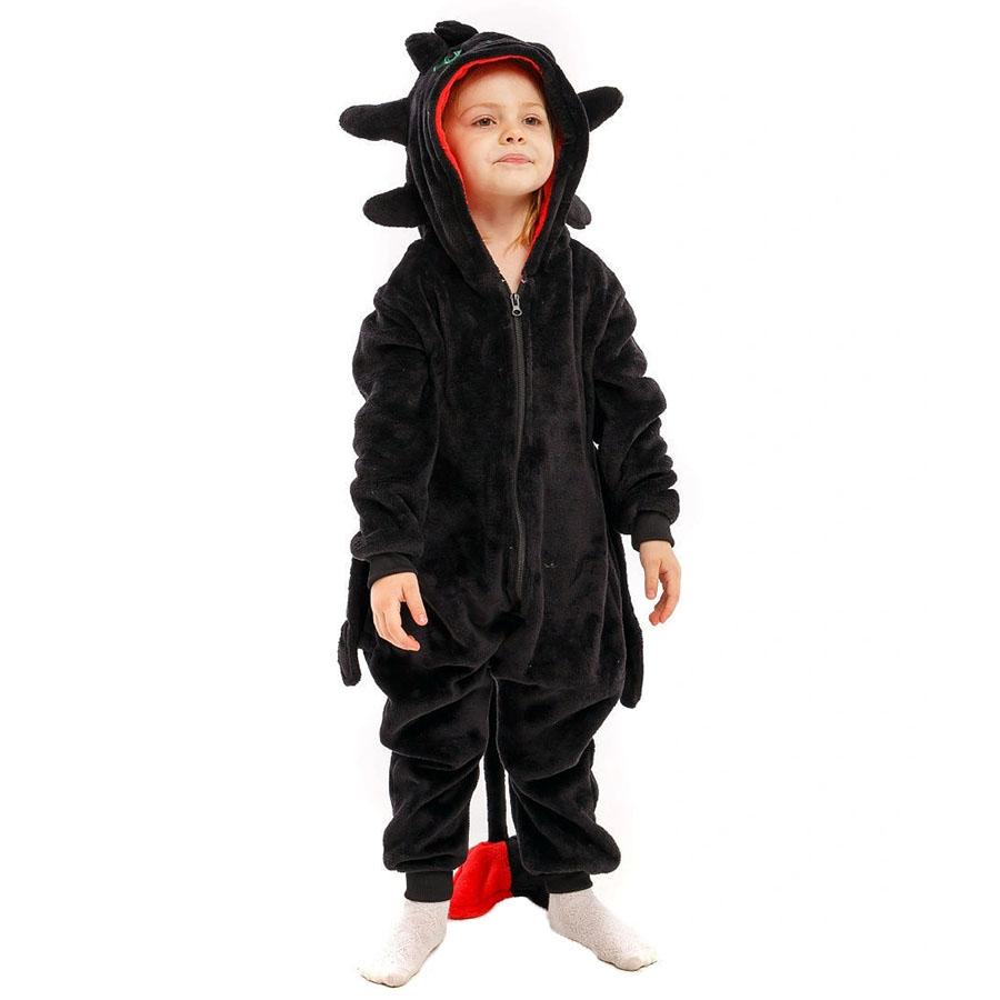 Детская Пижама Кигуруми Дракон Беззубик