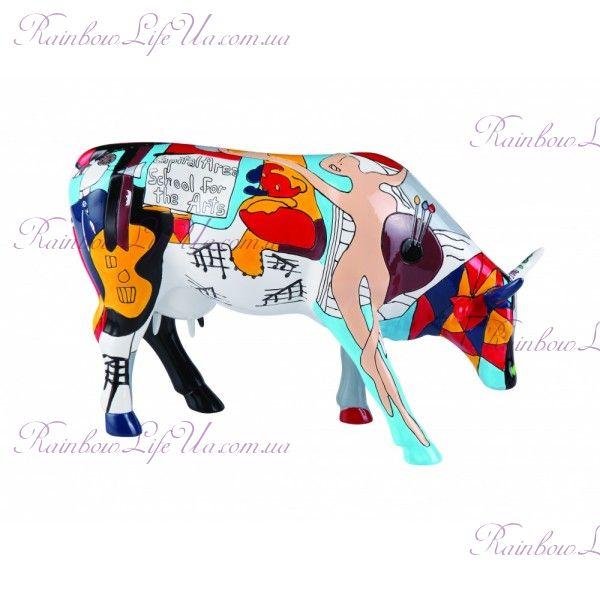 "Коллекционная статуэтка корова ""Picowso's School for the Art"", Size L"