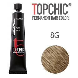 Goldwell Topchic 8G - Стойкая краска для волос - Русый золотистый 60 мл.