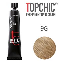 Goldwell Topchic 9G - Стойкая краска для волос - Светло-русый золотистый 60 мл.