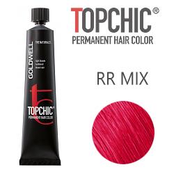 Goldwell Topchic RR-микс - Стойкая краска для волос тон интенсивно-красный 60 мл