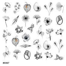 Слайдер-дизайн для ногтей № 0397