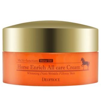 Крем для лица питательный с лошадиным жиром Deoproce Horse Enrich All Care Cream (Korea original) (7550)