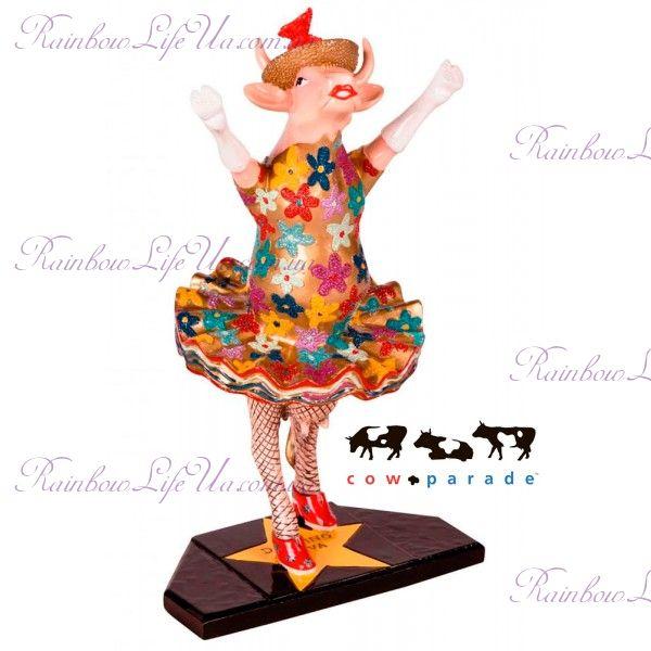 """Коллекционная статуэтка корова """"Dancing Diva"""", Size M"""