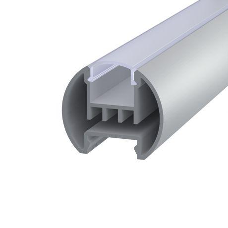Круглый алюминиевый профиль для светодиодной ленты
