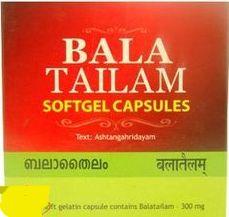 Бала таилам софт гель капсулес, 100 кап, Kottakkal , Bala tailam soft gel capsules, 100caps