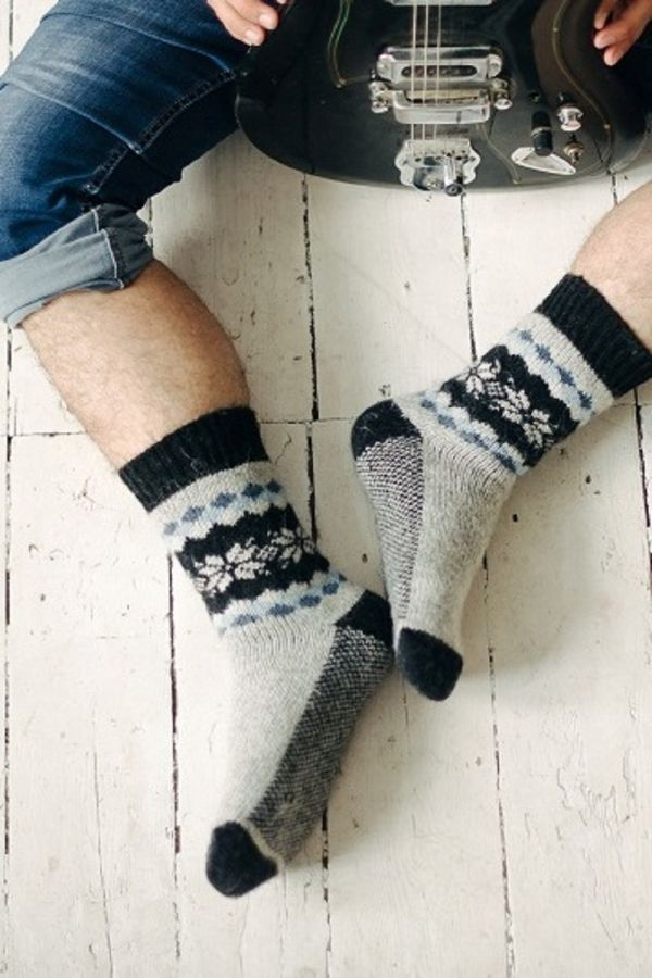 Носки шерстяные N6R66-2 [в ассортименте] [распродажа]