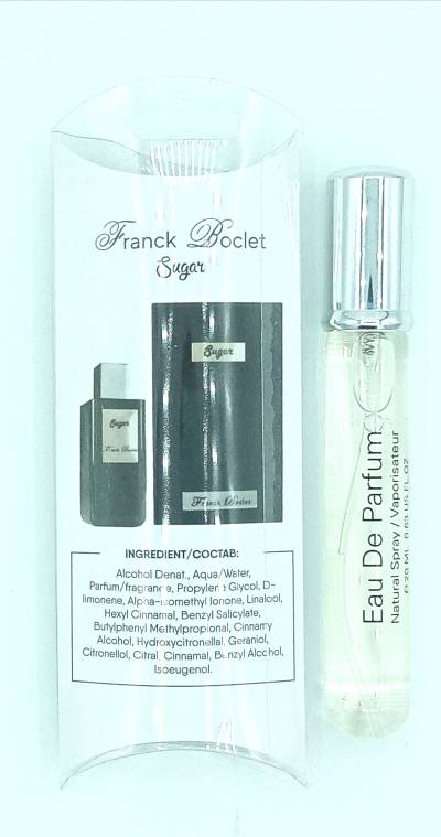 Franck Boclet Sugar 20мл