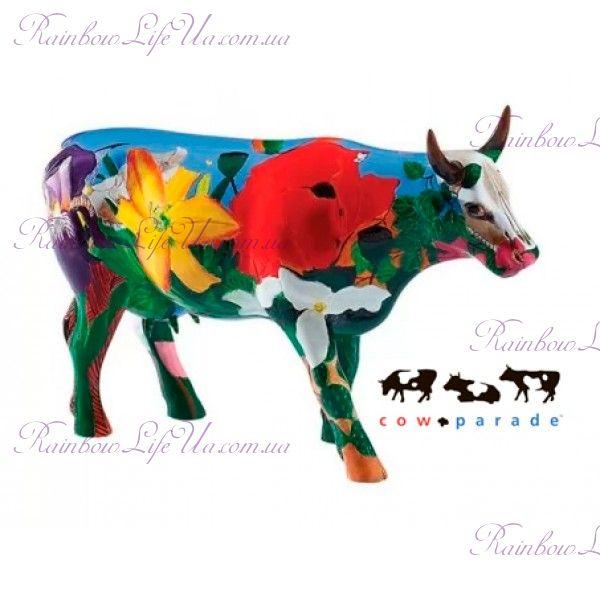 """Коллекционная статуэтка корова """"Georgia O'Cowffe"""", Size L"""
