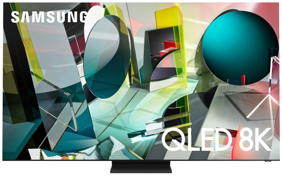 "Телевизор QLED Samsung QE75Q900TSU 75"" (2020)"