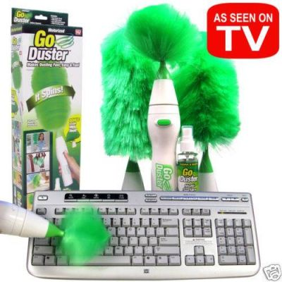 Чудо метелка Spin Duster 3 насадки