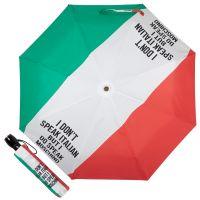 Зонт складной Moschino 8027-OCA Speak Moschino Multi
