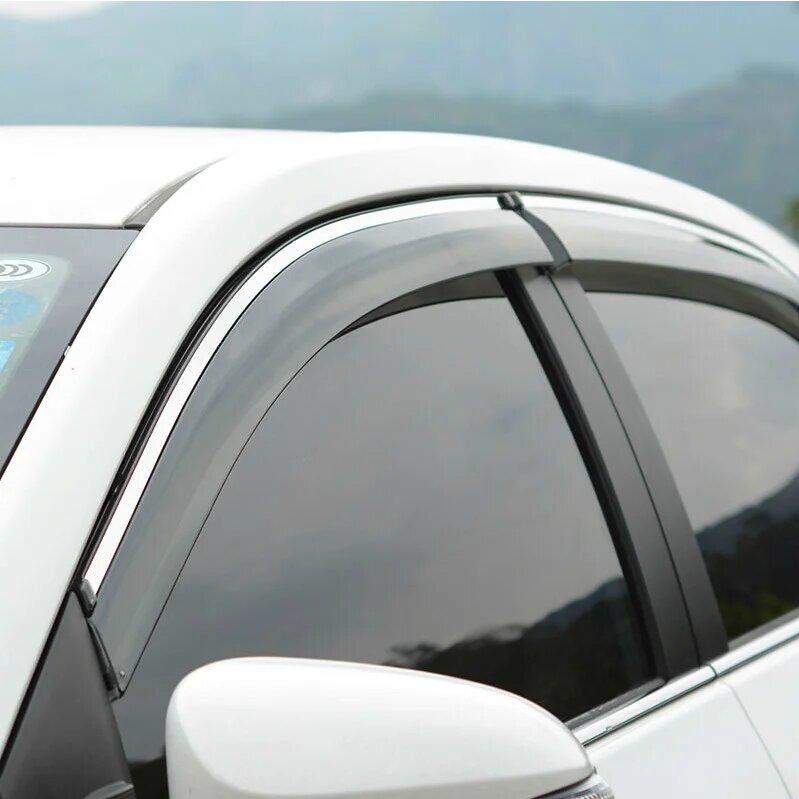 Дефлекторы окон Peugeot 4007 (2007-2012г)