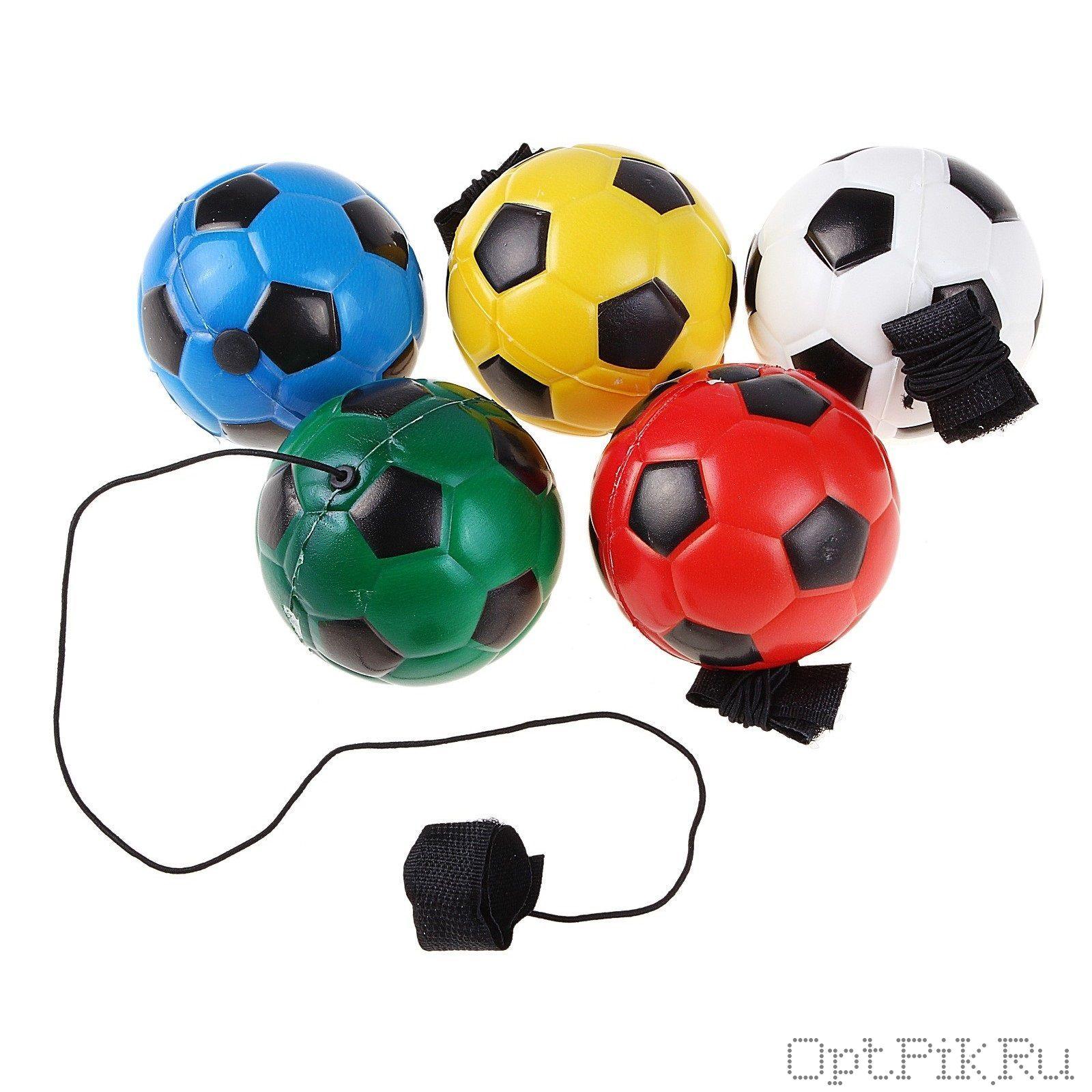 """Мяч на резинке """"Футбол"""""""