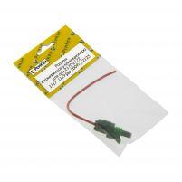 """RK04174 * """"Разъем к компрессору кондиционера для а/м 2170-2172, 1117-1119 (до 2009г.), 2123 (с проводами 1,0 кв.мм, длина 120 мм)"""