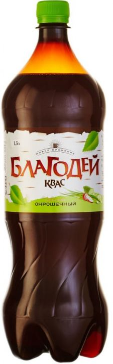 Квас Благодей окрошечный 1,5л Томск