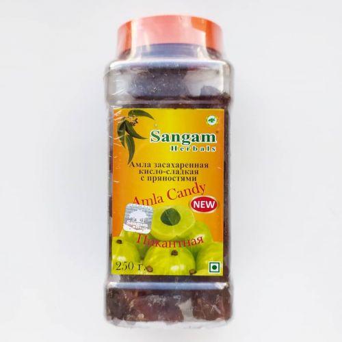 Амла засахаренная кисло-сладкая с пряностями | Amla Candy | 250 г | Sangam Herals