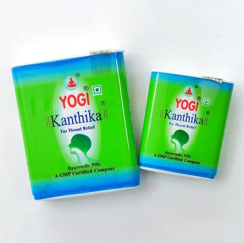 Гранулы от боли в горле и для свежего дыхания Йоги Кантика | Yogi Kanthika | 70 гранул