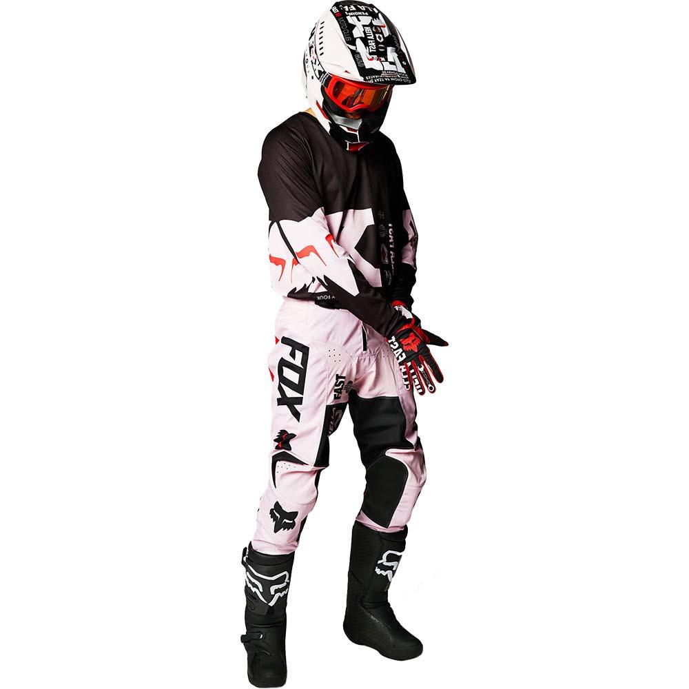 Fox 180 Illmatik Black/Pale Pink джерси и штаны для мотокросса