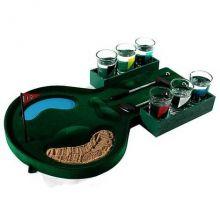 Пьяный гольф со стопками