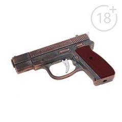 Зажигалка с фонариком Пистолет