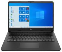Ноутбук HP 14s-fq0024ur Чёрный (22M92EA)