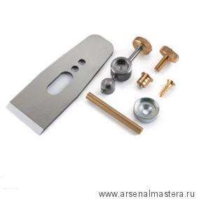 Набор для изготовления деревянного рубанка Veritas Wooden Plane Harware Kit с ножом 41.28 мм / PM-V11 05P40.43 М00010561